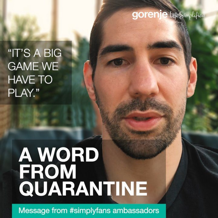 A WORD FROM QUARANTINE: NIKOLA KARABATIC