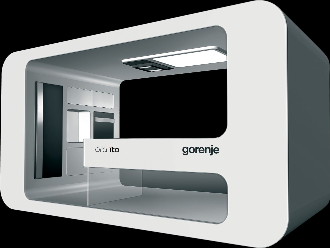 gorenje ora to black gorenje. Black Bedroom Furniture Sets. Home Design Ideas
