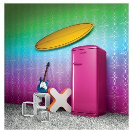 Rasberry refridgerator Gorenje Retro Funky Collection.