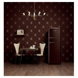Chocolate refridgerator Gorenje Retro Vintage Collection.