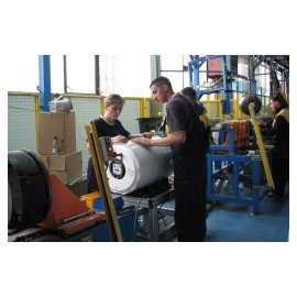 Assembly of water heaters