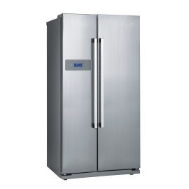 Gorenje side by side fridge freezer silver