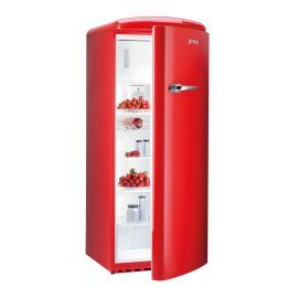 Gorenje Retro collection - Refridgerator Chick Fire Red
