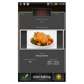 Cooking goes Wi-Fi featuring iChef+