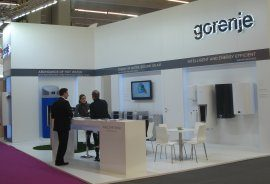 Gorenje stand in biennial Interclima fair in Paris.