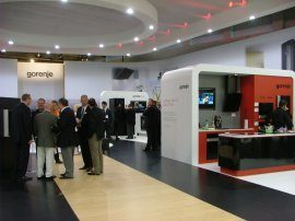 Gorenje at the IFA 2008 fair.