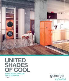 Magazine listing - Selection of Gorenje colour edition