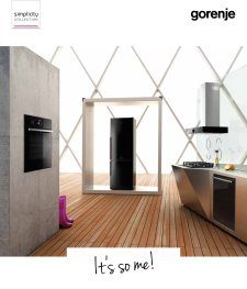 Magazine listing - Gorenje Simplicity Collection
