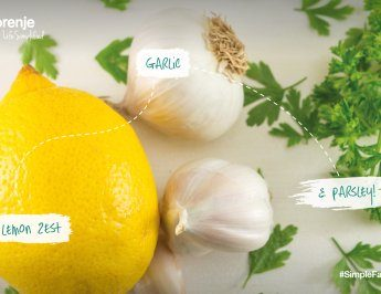 #SimpleFacts food board – Lemon, garlic and parsley