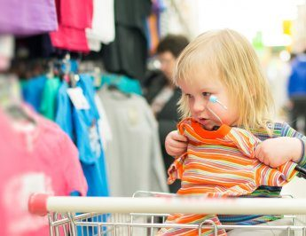 Buying clothes for your family
