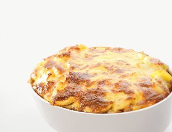 Moussaka with potatoes