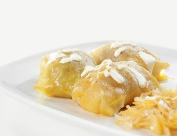 Ukrainian cabbage rolls (Ukraine)