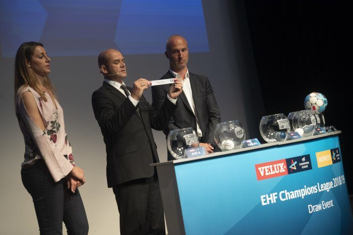 EHF DRAW for handball season 2018/19