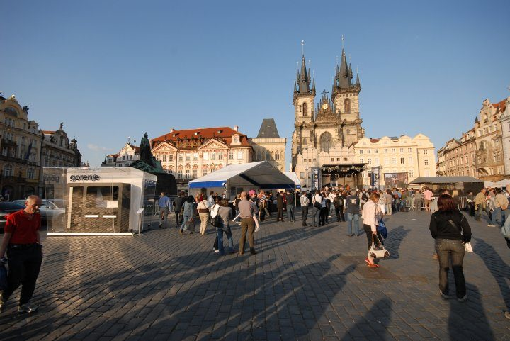 Gorenje's Celebrates the Europe Day with a Special Installation in the Center of Prague