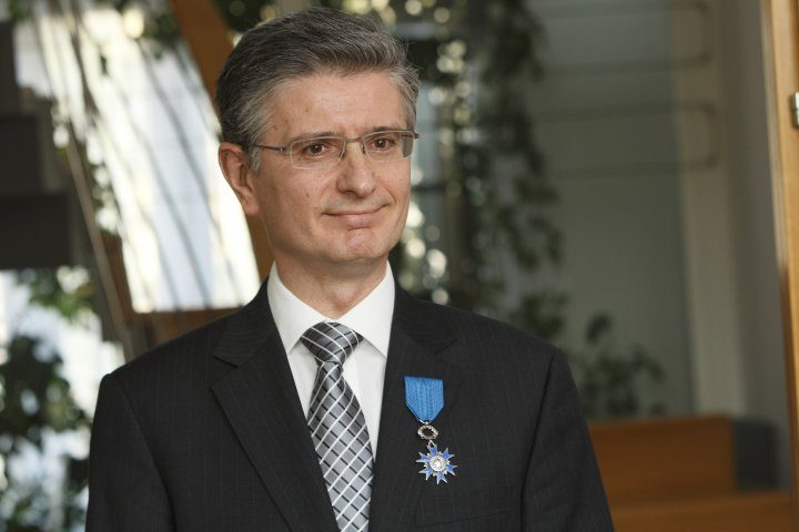 Franjo Bobinac awarded French National Order of Merit