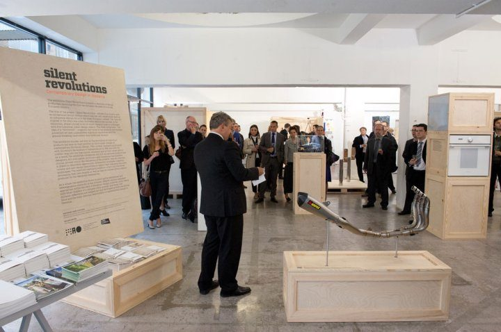Opening of the Exhibition of Slovenian Design in London
