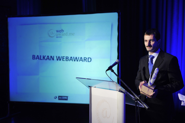 Gorenje Slovenia website wins the Balkan Web Award