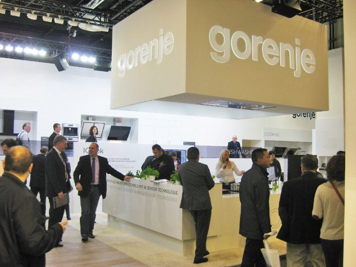 Gorenje back at the LivingKitchen @ IMM in Cologne