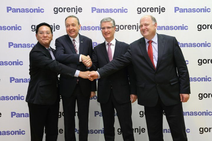 Gorenje in Panasonic sklenila strateško partnerstvo
