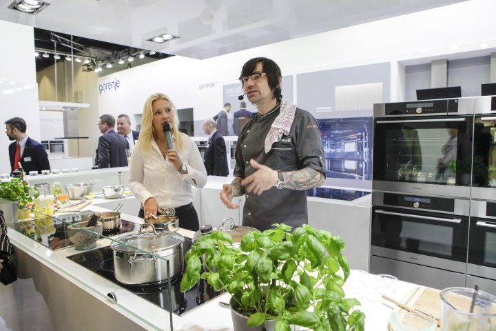 Gorenje presenting advanced solutions for more cooking pleasure at LivingKitchen in Cologne