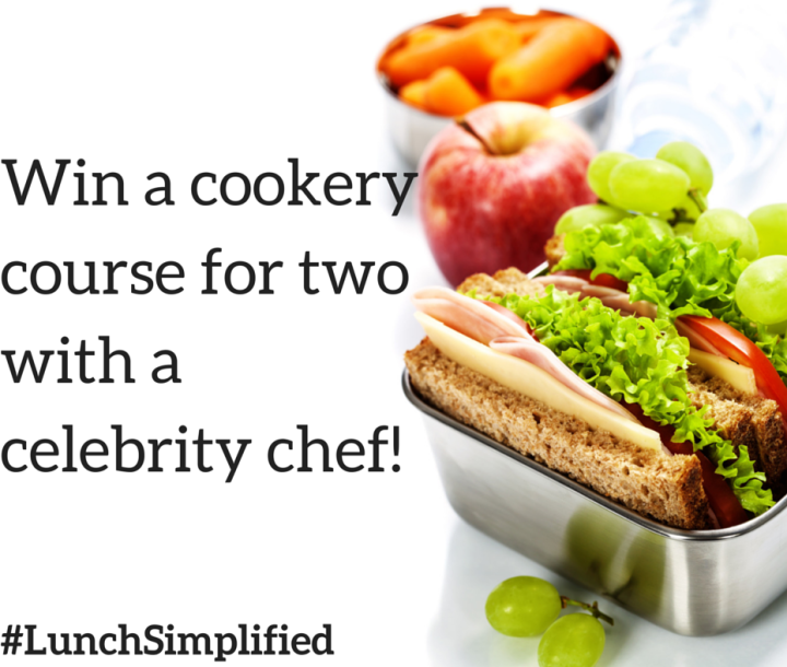 #LunchSimplified – win a cookery course with a celebrity chef!