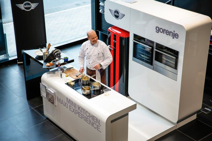 Gorenje and MINI team up for a MAXI experience
