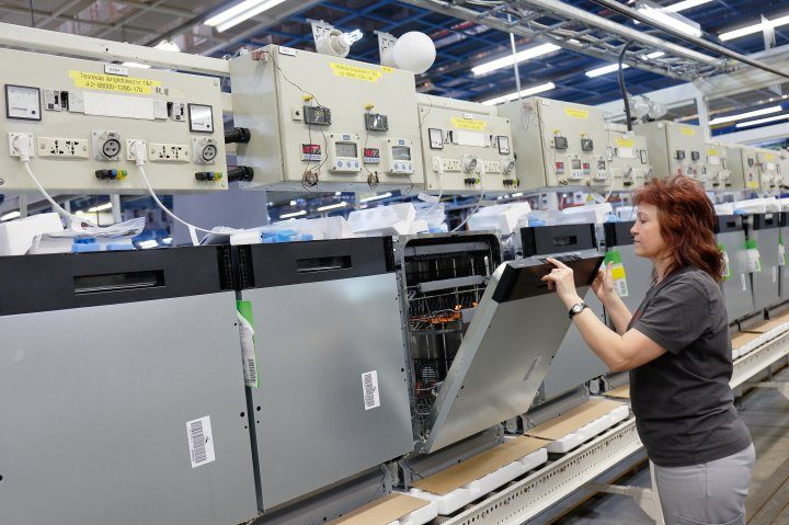 Gorenje brand dishwasher production launched in Velenje