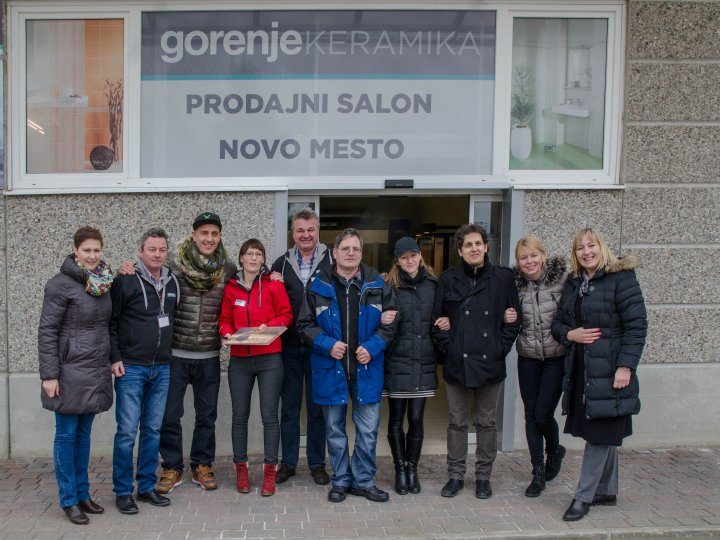 Gorenje Keramika with a new showroom in Novo mesto