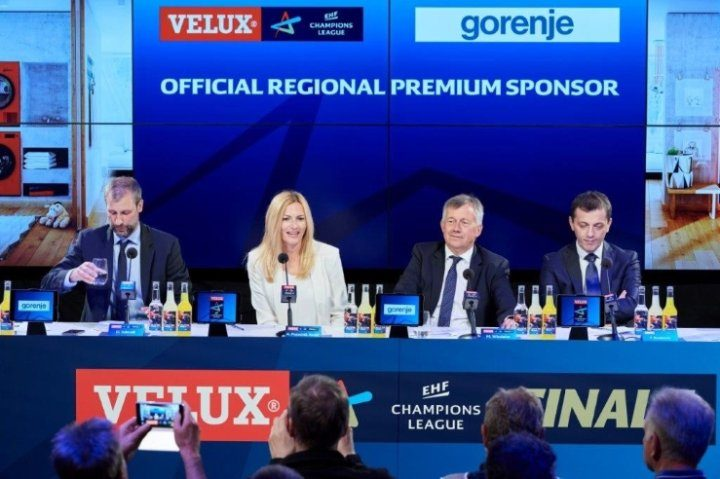 Gorenje becomes one of the biggest partners of European handball