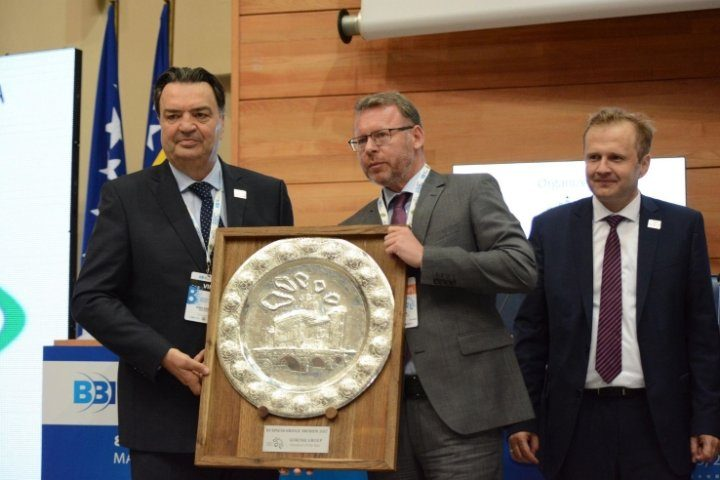 Gorenje Group wins the Innovator of the Year Award at the Sarajevo Business Forum