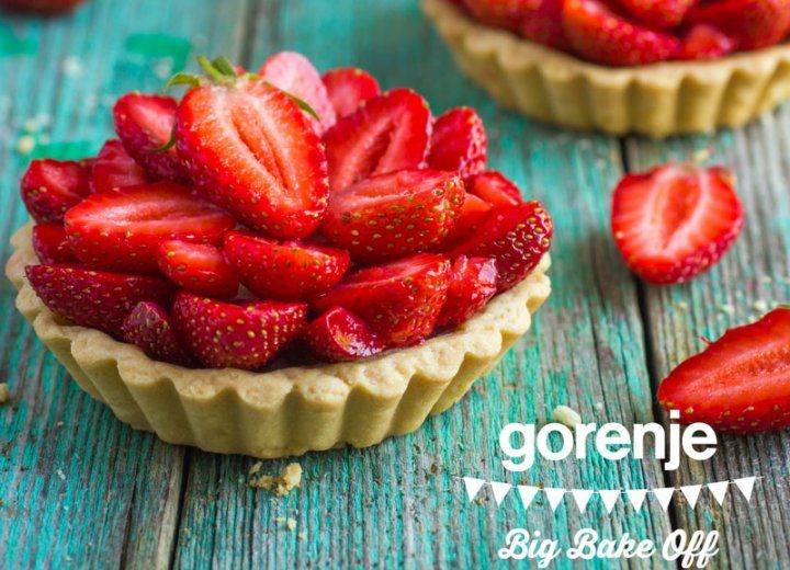 GBBO Strawberry Tart