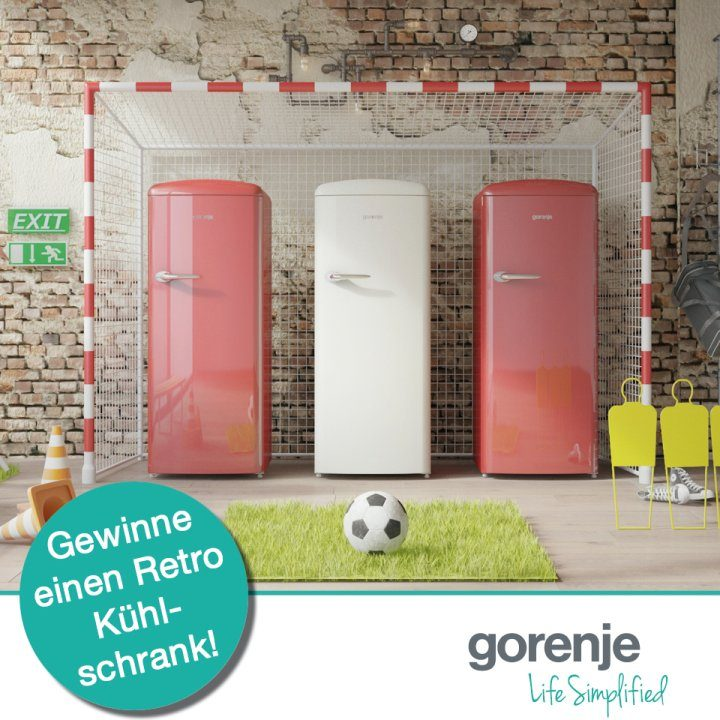 gorenje austria facebook gewinnspiel retro k hlschrank gorenje. Black Bedroom Furniture Sets. Home Design Ideas