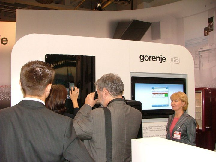 Gorenje at the IFA 2008 fair