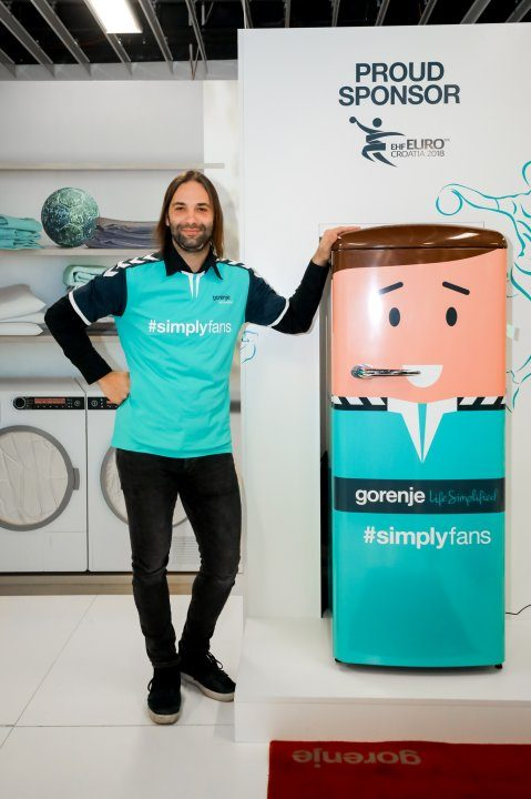 Handball fans in Europe united with Gorenje's #simplyfans movement