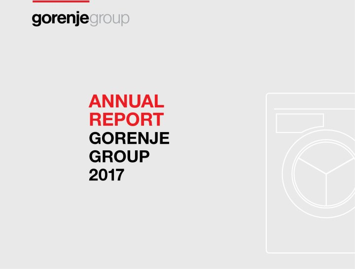 Gorenje Group 2017 annual report