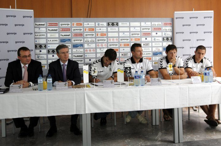 Franjo Bobinac is the new president of the Handball Club Gorenje