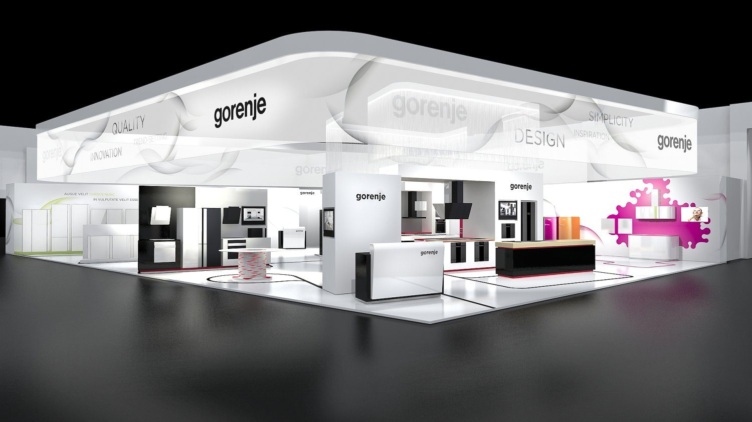 gorenje at berlin 39 s ifa 2009 fair gorenje. Black Bedroom Furniture Sets. Home Design Ideas