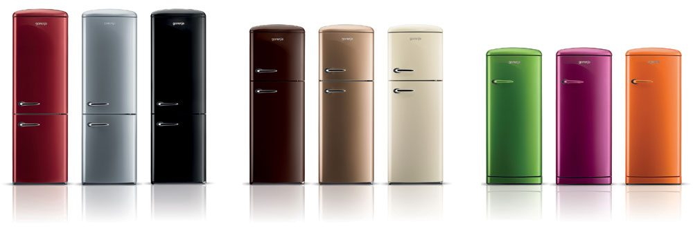 gorenje retro collection in new colours gorenje. Black Bedroom Furniture Sets. Home Design Ideas