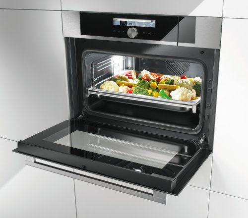 Steam cooking: plus for healthy cooking
