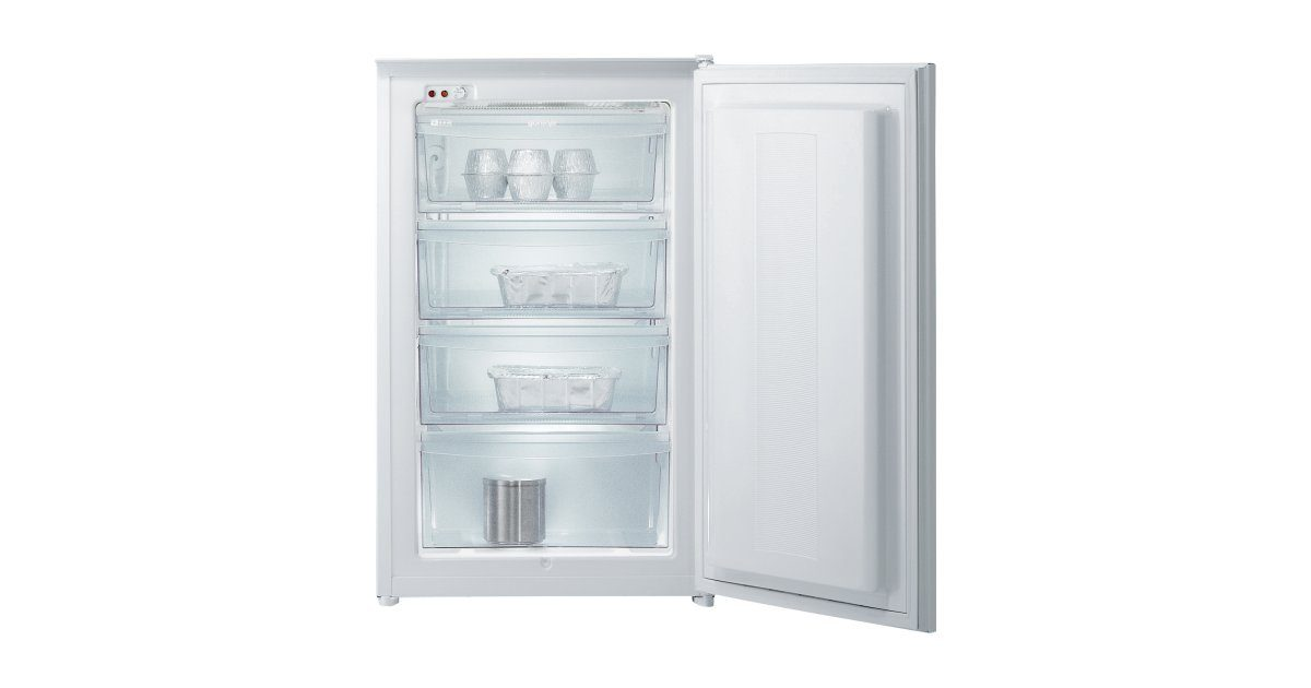 Built in upright freezer fi4091aw gorenje for Retro kühl gefrierschrank