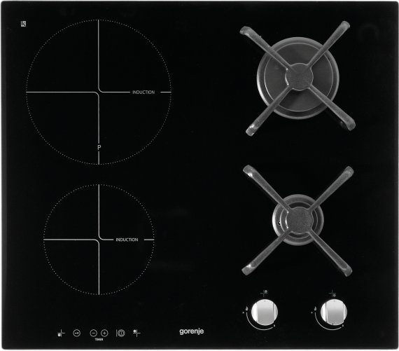 Combined induction hob ITG623ASC