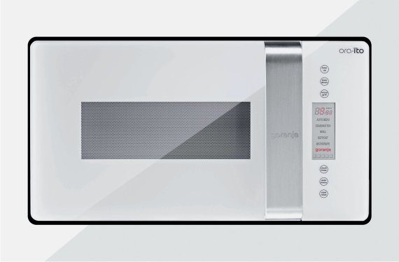 Built-in microwave oven with grill BM6250ORAW