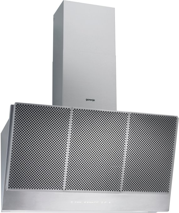 Wall mounted cooker hood WHI961S2XUK