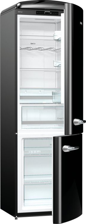 Freestanding fridge freezer NRKO6193BK