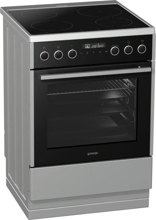 Electric cooker with induction hob EI647A21X2