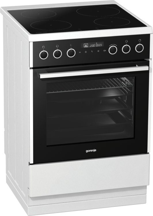 Electric cooker with induction hob EI647A21W2