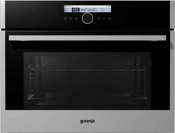 Built-in compact microwave oven BM589S11X
