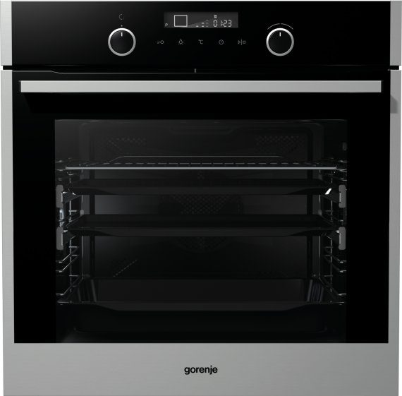 Built-in compact pyrolytic oven BOP747S32X