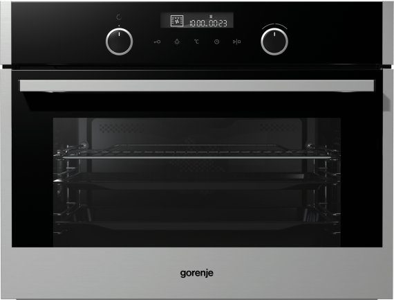 Built-in multisystem compact oven BO547S10X