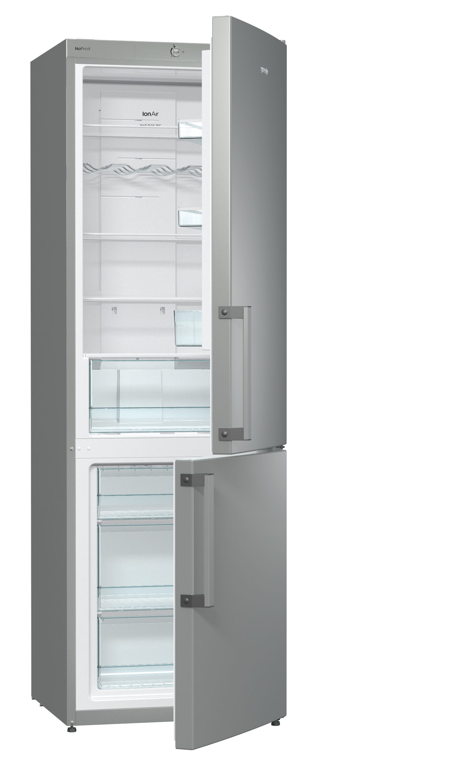 frigo combinato da libera installazione nrk6191cx gorenje. Black Bedroom Furniture Sets. Home Design Ideas